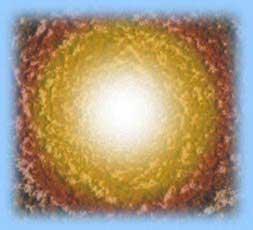 Vue artistique d'un trou blanc