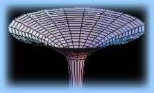 Un trou noir dans l'espace-temps